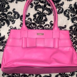 Kate Spade Pink Bow Purse